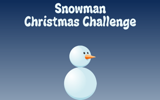 Snowman: Christmas Challenge winter game